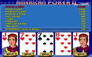 American Poker 2 Automat