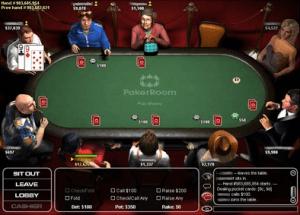 Online Poker Spielraum