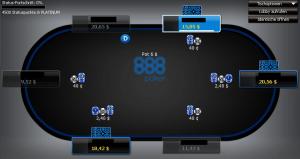 Online Poker Texas Hold'em Tisch