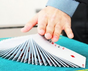 Poker Karten Tricks
