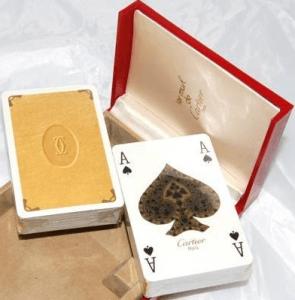 Cartier Pokerkarten