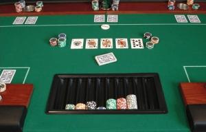 Hochwertiger Pokertisch