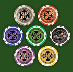 Pokerchips Wert