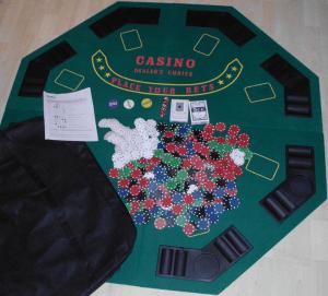 Pokertisch Ablage