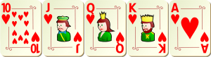 Royal Flush beim Poker