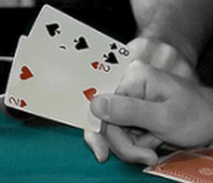Schlechtes Poker Blatt