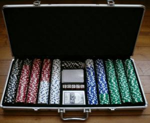 Schöner Pokerkoffer