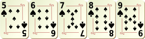 Straight Flush beim Poker