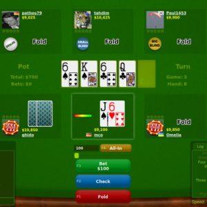 Online Poker Spiel